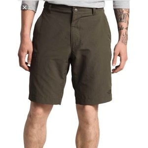 The North Face Men's Green Hiking Shorts